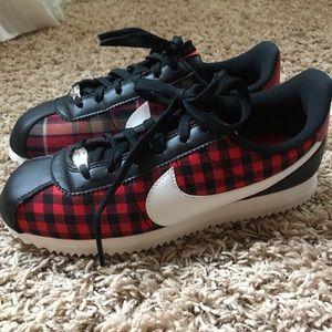 Nike Cortez Plaid Sneakers